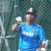 Indian cricket team at a practice session before the second cricket Test match in Hyderabad on March 1, 2013.