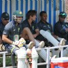 Australian cricket team at a practice session before the second cricket Test match in Hyderabad on March 1, 2013.