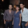 Tusshar Kapoor, Ankita Lokhande and Sushant Singh Rajput at Success bash of 'Kai Po Che!'