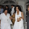 Shilpa Shetty at Sonu Nigam's mother's prayer meet