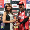Celebrity Cricket League 2013 (CCL) Finals between Karnataka Bulldozers vs Telugu Warriors at the Chinnaswamy Stadium in Bengaluru