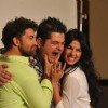 Bollywood Actors Neil Nitin Mukesh with Sonal Chauhan pose during the photo soot promotion of  Film 3G