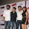 Aditya Roy Kapoor, Ayan, Ranbir Kapoor and Deepika Padukone at Yeh Jawaani Hai Deewani first look