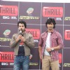 Arhaan Behll and Vidyut Jamwal at Channel BIG RTL Thrill launch