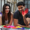 Festival of colours Holi for save Water campaign and safe Holi