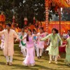 Shiv, Anandi, Navika and Beera at Holi Ka Jashan, Rang De Colors Ke Sang