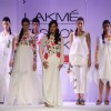 Hazel Keech as showstopper for designer Purvi Doshi at Lakme Fashion Week Summer 2013