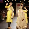 Celebs walk the ramp for Swades Foundation show by Vikram Phadnis at LFW