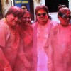 Bappi Lahiri Celebrates Holi with family