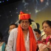 Hridaynath Mangeshkar and Usha Mangeshkar at Pandit Dinanath Mangeshkar Awards ceremony