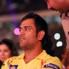Mahendra Singh Dhoni at IPL 6 opening ceremony in Kolkata