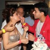 Mahhi Vij with Gautam Rode at Mahhi Vij's Birthday Celebration
