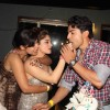 Debina Bonnerjee and Gurmeet Choudhary with Mahhi Vij at Mahhi Vij's Birthday Celebration