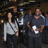 R. Balki and Gauri Shinde at Airpot Going to Toifa Awards