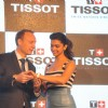Deepika Padukone unveilling for Tissot New Swiss Watch