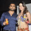 Sunny Leone at the shoot of Sachin J Joshi's XXX Energy Drink