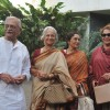 Gulzar, Waheeda, Asha Parekh & Helen at 'Paansa' play