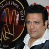 Govinda at the announcement of Indian Model Hunt 2013 at Novotel Hotel