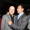Anupam Kher with Gulshan Grover at Sahara Pariwar Bash For Padma Shri Sridevi