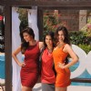Archana Vijaya, Sunny Leone and Sonali Sehgal at Special shoot for XXX Energy Drink