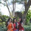 Sonali Sehgal, Sunny Leone and Archana Vijaya at Special shoot for XXX Energy Drink