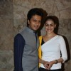 Ritesh Deshmukh with Genelia Deshmukh at Special screening of Bombay Talkies