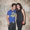 Ayushman Khurana with wife Tahira Kashyap at Special screening of Bombay Talkies