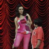 Preity Zinta on the sets of India's Best Dramebaaz