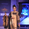 Designer Ritu Kumar during a fashion show at the Rajasthan Fashion Week
