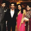 Mohit Sehgal and Sanaya Irani at Arjun Bijlani's Reception party