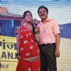 Rohitashv Gaur and Sucheta Khanna at launch of Television serial Lapataganj Ek Baar Phir in Mumbai