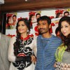 Sonam, Dhanush and Krishika at the launch of Magna Star Week's latest issue