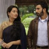 Ranveer Singh and Sonakshi Sinha On the sets of Uttaran to promote the film Lootera