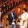 Cast of Chennai Express on the sets Comedy nights with Kapil Sharma