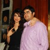 Priyanka Chopra posed with her friend during the launch video songs of Exotic featuring pitbull