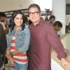 Vishakha Singh and Vinay Pathak at Film Bajaate Rahoo Promotion on the set of CID
