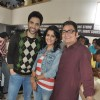 Tusshar Kapoor, Vishakha Singh and Vinay Pathak at Film Bajaate Rahoo Promotion on the set of CID