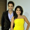 Tusshar Kapoor and Vishakha Singh promotes Bajatey Raho in Big Fame Star
