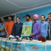 Harbhajan Singh at the Press Conference for his album Meri Maa