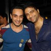 Angad Hasija with Nikhil Arya at Producer Rajan Shahi�s Bash