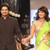 Karan Mehra and Nisha Rawal walk the ramp for Gitanjali Gems at IIJW 2013