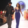 Rituparna Sengupta & Pooja Misrra walk the ramp at IIJW 2013