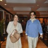 Sanjay Khan with wife Zarine Khan at Unveiling of the Statue of Rajesh Khanna