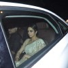 Sridevi with Boney Kapoor arrives at Shahrukh Khan's Grand Eid Party at actor's residence Mannat