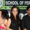 Adaa Khan was seen at the Convocation at ITA School of Performing Arts
