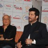 Mahesh Bhatt and Anil Kapoor make their views at the donation drive