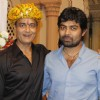 Sumeet Mittal and Rohit Raj Goyal on Sumeet's birthday on the sets of Diya Aur Baati Hum