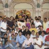 Cast and crew at Sumeet Mittal's birthday on the sets of Diya Aur Baati Hum