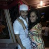 Saillesh Gulabani with wife Ashita Gulabani at Nikhil And Suhana Sinha's post Eid party