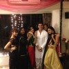 Gautam Rhode surrounded by beauties at the party
